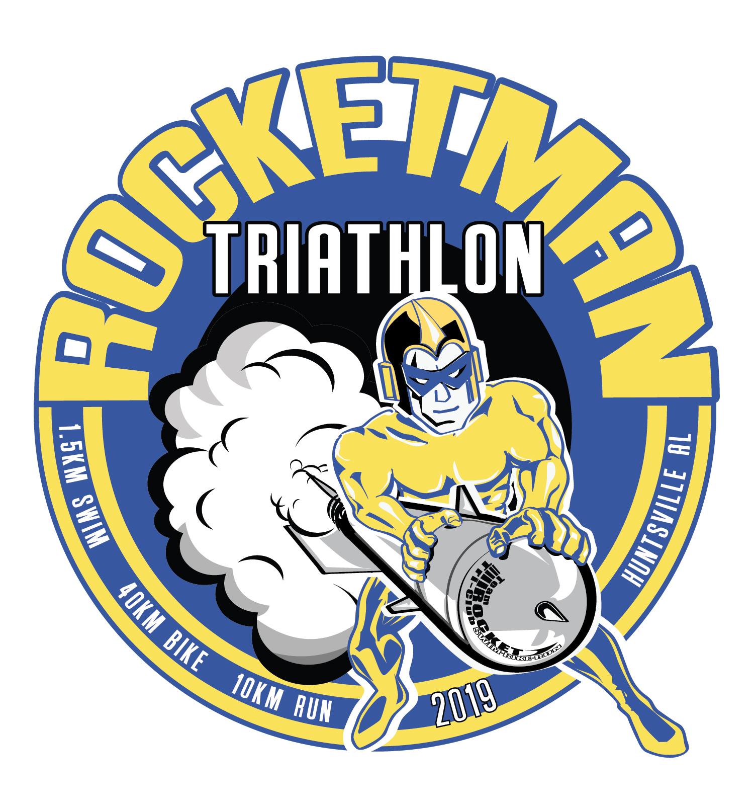 Rocketman Triathlon 2019 - Team Rocket Tri Club